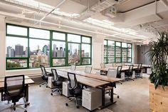 Projeto de interior de escritório sustentável e Verde - Etsy
