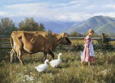 Caminhando pelo Campo com o Pintor Robert Duncan
