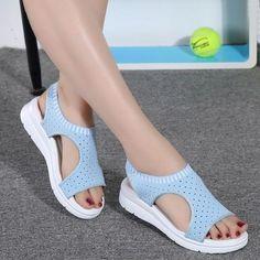 91959070d96 Women s Sandals-2018 Summer Platform Breathable Comfort Walking Sandals  Runing Shoes