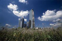 63빌딩과 구름