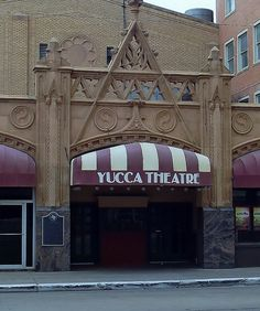 Yucca Theatre - Midland, Texas, opened 1929