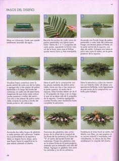 como hacer arreglos florales- revista gratis