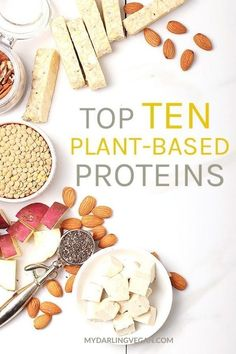 Where do vegans get their protein? How much protein should I be eating? A guide to veganism and protein plus 10 of the best plant-based protein sources in the world! #mydarlingvegan #veganprotein #veganresources #plantbasedproteins
