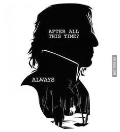"One of my fav character in HARRYPOTTER SERIES.......""SEVERUS SNAPE"""