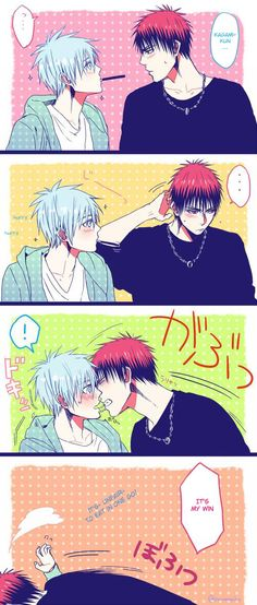 Ah~ These two are so cute! -w- I love how shy he gets, then finally gets courage...! <3