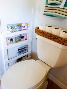 Big Ideas for Small Bathroom Storage | DIY Bathroom Ideas - Vanities, Cabinets, Mirrors & More | DIY