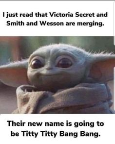 Stupid Funny Memes, Funny Laugh, Funny Relatable Memes, Funny Stuff, Random Stuff, Yoda Meme, Yoda Funny, Funny Cute, Really Funny