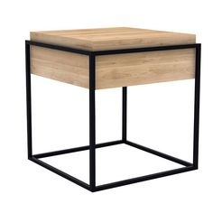 s monolit side table black by universo positivo buy online at monoqi