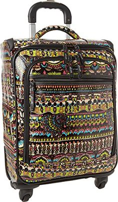 Sakroots Sak Roots Carry On Suitcase Carry On Neon One World One Size *** This is an Amazon Affiliate link. Continue to the product at the image link.
