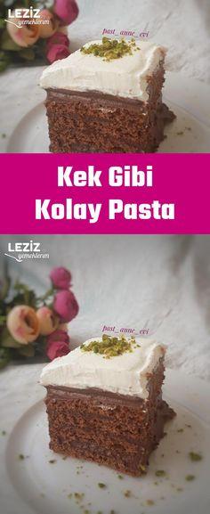 Kek Gibi Kolay Pasta – Fashion and Street Styles on Internet Carrot Cream, Tart Molds, Easy Pie, Cake Mold, Cream Cake, Vanilla Cake, Chocolate Cake, Red Velvet, Food And Drink