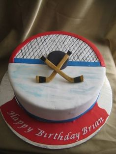 Images Hockey Cake - perfect for insureon CEO, Ted Devine's birthday! He's a hockey coach and enthusiastHockey Cake - perfect for insureon CEO, Ted Devine's birthday! He's a hockey coach and enthusiast Hockey Birthday Cake, Hockey Birthday Parties, Hockey Party, Boy Birthday, Birthday Month, Birthday Ideas, Hockey Cakes, Sports Themed Cakes, Sport Cakes