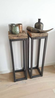 Zuil staal industrieel – seda sonmez – … - home/interieur Steel Furniture, Industrial Furniture, Diy Furniture, Furniture Design, Furniture Stores, Furniture Websites, Inexpensive Furniture, Rustic Industrial, Wood Steel
