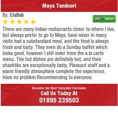 There are many Indian restaurants closer to where I live, but always prefer to go to...