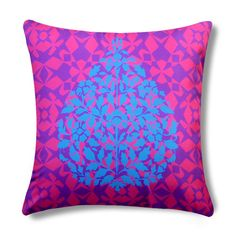 Contrasting floral designs for your pillow covers from The Wall Store can brighten up your spirits.