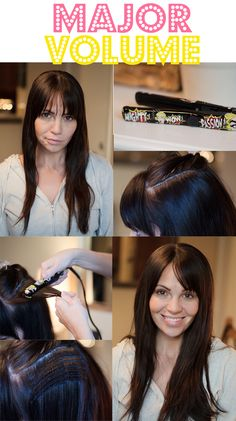 Easy and effective way to get volume that lasts for days! #hairtips