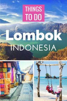Looking for things to do in Lombok Indonesia?! Click through for a full travel guide of things to do, see, and play in Lombok, as well as where to stay!