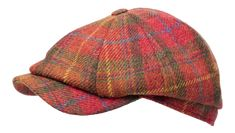Newsboy Classic Cap Red Plaid-Size 59 only Mens Casual Hats, Hip Hop Costumes, Mens Caps, Red Plaid, Headpieces, Hats For Men, Caps Hats, Knitted Hats, Vintage Fashion