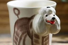 11 Cutest Gifts for Poodle, Toy Poodle and Cockapoo Lovers Dog Lover Gifts, Dog Lovers, Baby Sleeping All Day, Ways To Wake Up, A Husky, Silver Gifts, Shaped Cookie, Cockapoo, Ceramic Cups