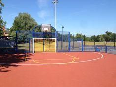 Multi Use Games Area Fencing Installation