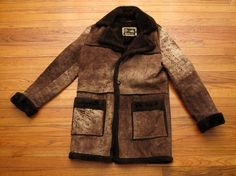 Scandinavian goddess vintage 60s shearling leather by lifewithoz ...