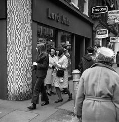 An poster sized print, approx (other products available) - Teenagers pass & John& one of the many fashionable shops to be found along London& Carnaby Street. - Image supplied by PA Images - poster sized print mm) made in Australia Lord John, Swinging London, Carnaby Street, Old London, National Photography, Sports Photos, Street Photo, Perfect Photo, London England