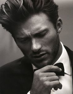 """Clint Eastwood's son Scott Eastwood got his first big break in David Ayer's """"Fury,"""" starring Brad Pitt, and will be seen next in a Nicholas Sparks adaptation, """"The Longest Ride."""" He's also just joined the cast of """"Suicide Squad"""" for Warner Bros., but don't expect him to reveal which role he'll be playing."""