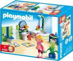 Amazon.com: Playmobil Family Bathroom: Toys & Games