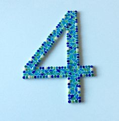 Mosaic numbers 22,50 Euro
