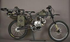 自転車だけどバイク 「MOTOPED」に「サバイバルエディション」登場 - えん乗り