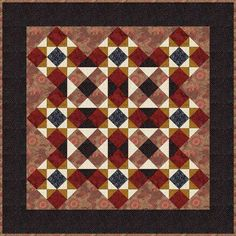 star quilts | Ohio Star Quilt Pattern