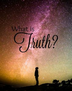 What is truth and who can be trusted. Men sell out for financial gain and politicians lie... Is there anyone that we can trust? Click through to read Truth!