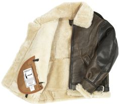 The General's B3 Bomber Jacket made famous by Patton, Hodges, and Bradley Made in the USA, The General B3 Bomber Jacket. 100% Sheepskin with Horsehide Arm Supports gives this B3 Bomber Jacket a speci