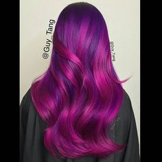 """""""Shades of violet,wild orchid, and mix them with magenta using pravana vivids. Is anyone working this weekend?"""" Photo taken by @guy_tang on Instagram, pinned via the InstaPin iOS App! http://www.instapinapp.com (09/04/2015)"""