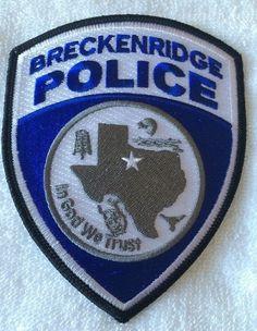 Breckenridge PD TX