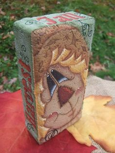 Fall Harvest Scarecrow Brick Pattern Oil Creek Originals