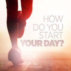 How do you start your day?  - https://amroud.jeunesseglobal.com/