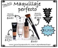 Set Maquillaje perfecto #Younique $1,720 #México #Kudo #Junio www.youniqueproducts.com/Lapraderaxalapa