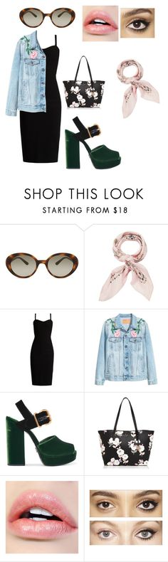 """""""Floral forever"""" by new-found-lover ❤ liked on Polyvore featuring Oliver Peoples, Manipuri, MaxMara, Prada, Kate Spade and Charlotte Tilbury"""