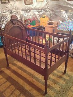 89 Best Vintage Baby Cribs Images In 2013 Cribs Baby