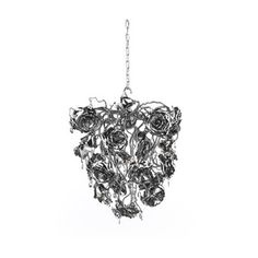 The Love you Love you not 60 Chandelier - Conical by Brand Van Egmond has been designed by William Brand, Annet van Egmond. The rose, while the icon of love, also symbolises the thin line between love gained and love lost. It's out of your hands,.