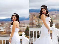 Such a beautiful bride!