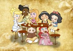 A Little Tea Party by ~NamelessDoll on deviantART