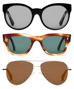 Handcrafted eyewear brand Cutler and Gross collaborate with the shoemakers Frye Company to create a stylish sunglasses collection for spring Cutler And Gross, Stylish Sunglasses, Women's Accessories, Eyewear, My Style, Collection, Eyes, Hand Made, Glasses