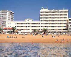 Dom Jose Beach Hotel, Quarteira, Portugal Spain And Portugal, Portugal Travel, Portugal Trip, Web Hotel, Hotel Algarve, Exterior, Places Ive Been, Dolores Park, Louvre