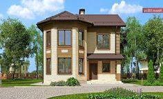 Проект дома C-110 - Проекты домов и коттеджей в Липецке
