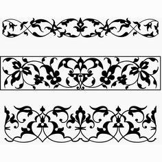 Flourishes ~ Typographic ornamental vignettes 1