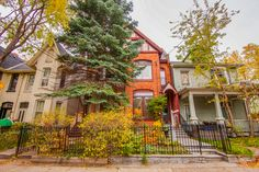 """This home is a unique """"one of a kind"""" 3-storey Victorian Style home in prime Cabbagetown and has charm and character galore!  Enter into the distinctive foyer with a loft-like space and spectacular stained glass windows for a cathedral """"WOW"""" factor!"""