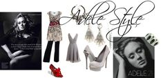 Adele Style, created by shaley1 on Polyvore