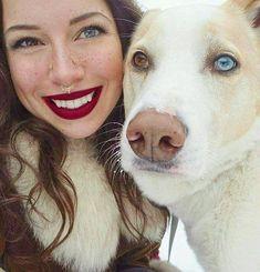Heterochromia. Cool.