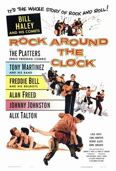 Rock Around the Clock Movie Posters From Movie Poster Shop